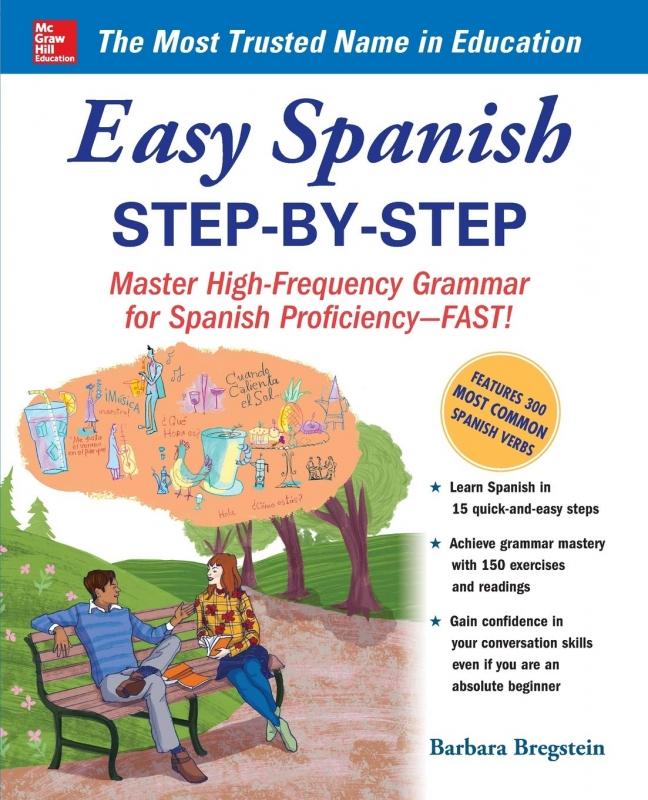 کتاب اسپانیایی Easy Spanish Step By Step