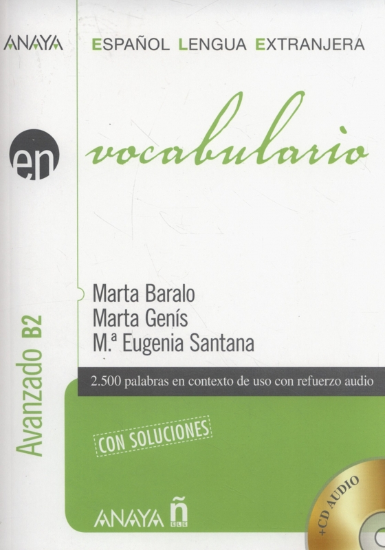 کتاب اسپانیایی Vocabulario Nivel Avanzado B2
