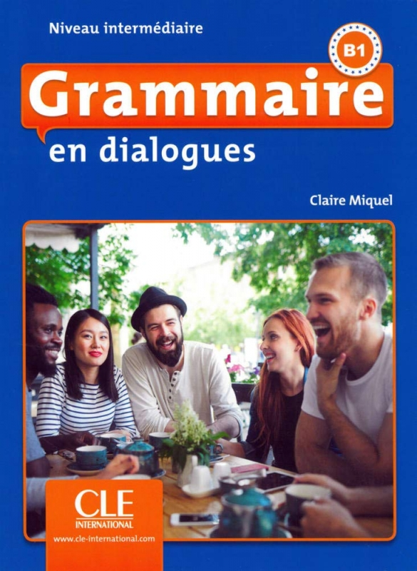 کتاب فرانسه  Grammaire en dialogues intermediaire + CD - 2eme edition