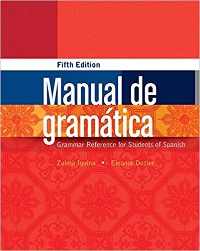 کتاب  اسپانیایی Manual de gramática