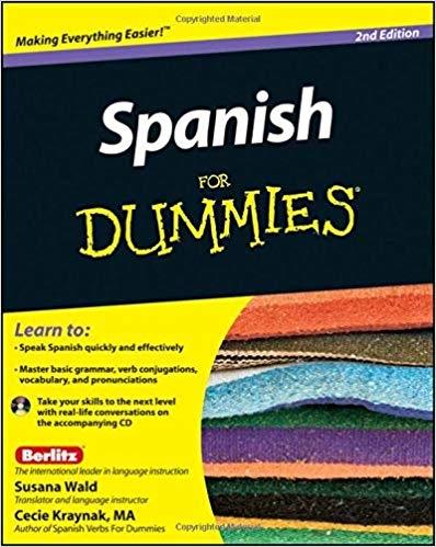 کتاب اسپانیایی Spanish For Dummies