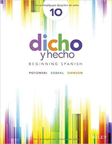 کتاب اسپانیایی Dicho y hecho  Beginning Spanish