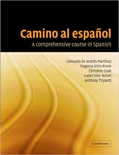 کتاب اسپانیایی Camino al espanol A Comprehensive Course In Spanish