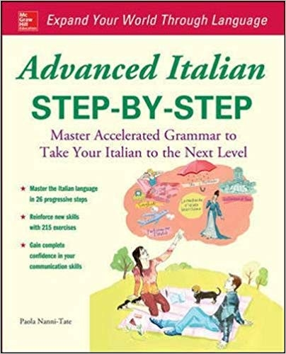 کتاب ایتالیایی Advanced Italian Step-by-Step
