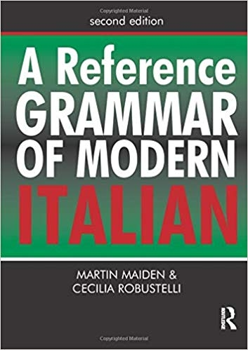 کتاب ایتالیایی  A Reference Grammar of Modern Italian (Routledge Reference Grammars)