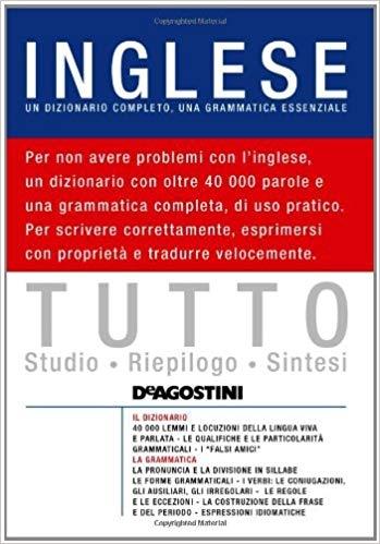 کتاب ایتالیایی  Tutto inglese. Un dizionario completo, una grammatica essenziale