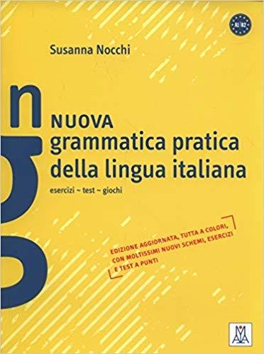 کتاب ایتالیایی Grammatica pratica della lingua italiana: Nuova grammatica pratica della lingua