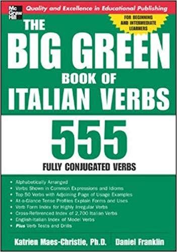 کتاب ایتالیایی  The Big Green Book of Italian Verbs