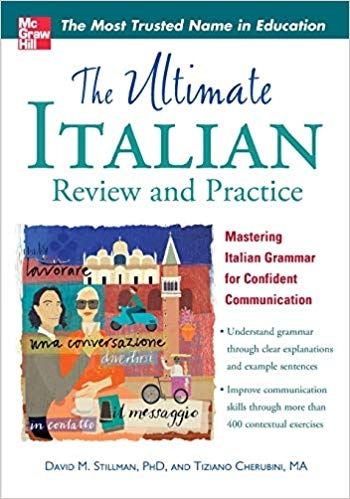 کتاب ایتالیایی The Ultimate Italian Review and Practice (UItimate Review & Reference Series)