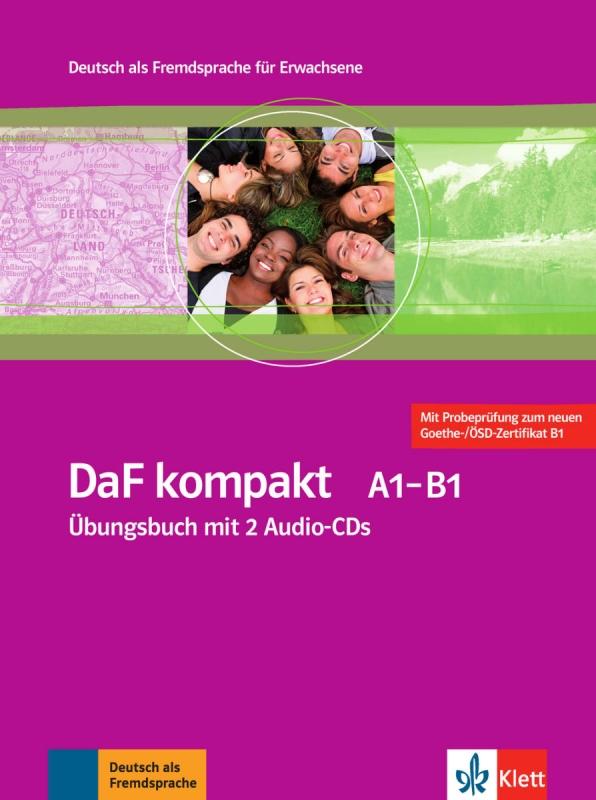 کتاب آلمانی داف کامپکت DaF kompakt Kursbuch + Ubungsbuch A1 - B1