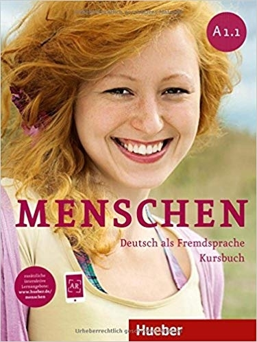 کتاب آلمانی منشن Menschen A1.1 kursbuch und Arbeitsbuch mit CD