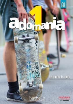 کتاب  فرانسوی Adomania 1 + Cahier + DVD