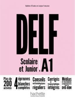 کتاب فرانسه DELF A1 Scolaire et Junior + DVD-ROM Nouvelle édition