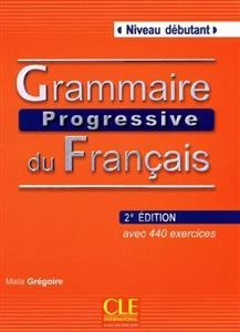 کتاب فرانسه  Grammaire progressive debutant + CD 3eme