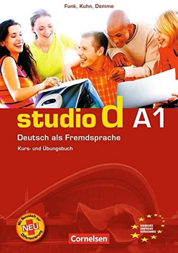 کتاب آلمانی (Studio d Sprachtraining A1 (SB+WB+DVD