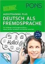 کتاب آلمانی PONS Audiotraining Plus Deutsch als Fremdsprache
