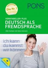 خرید کتاب آلمانی PONS Verbtabellen Plus Deutsch als Fremdsprache