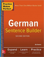 کتاب آلمانی Practice Makes Perfect German Sentence Builder ورژن جدید