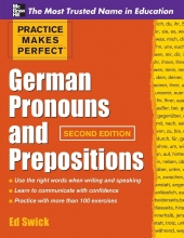 کتاب آلمانی Practice Makes Perfect German Pronouns and Prepositions