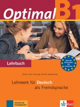 کتاب آلمانی  Optimal B1 Lehrbuch + Arbeitsbuch