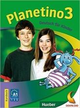 کتاب آلمانی Planetino 3 :Kursbuch + Arbeitsbuch MIT CD