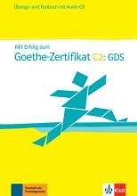 کتاب آلمانی Mit Erfolg zum Goethe-Zertifikat C2 GDS Übungs- und Testbuch + Audio-CD