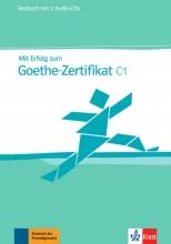 کتاب آلمانی Mit Erfolg zum Goethe-Zertifikat C1 Testbuch + Audio-CDs