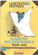 کتاب آلمانی Lesetexte Deutsch - Level 1: Alarm Fur Goethestrabe 3