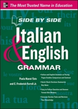 کتاب ایتیالیایی Side by Side Italian and English Grammar