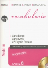 کتاب اسپانیایی Vocabulario Nivel Medio B1