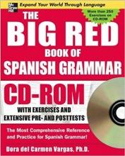 کتاب اسپانیایی The Big Red Book of Spanish Grammar