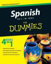 کتاب اسپانیایی Spanish All in One For Dummies