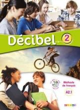 کتاب فرانسه  Decibel 2 niv.A2.1 - Livre + Cahier + CD mp3 + DVD