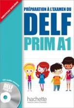 کتاب فرانسه  DELF PRIM A1 + CD audio