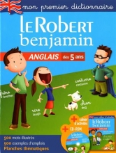 کتاب فرانسه  Dictionnaire Le Robert Benjamin anglais