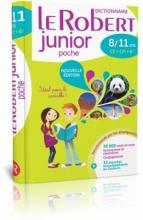 کتاب فرانسه  Dictionnaire Le Robert Junior Poche 8-11 ans CE-CM, 6eme