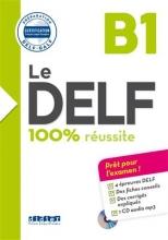 کتاب فرانسه   Le DELF - 100% reusSite - B1 + CD