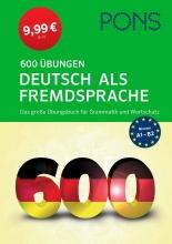 خرید کتاب آلمانی پونز PONS 600 Übungen Deutsch als Fremdsprache
