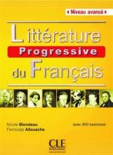 کتاب فرانسه  Litterature progressive du français - avance