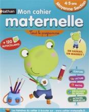 کتاب فرانسه  Mon cahier maternelle 4/5 ans