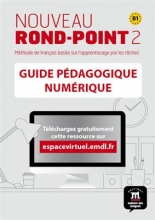 کتاب فرانسه  Nouveau Rond-Point 2 – Guide pedagogique