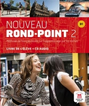 کتاب فرانسه  Nouveau Rond-Point 2 + Cahier + CD audio