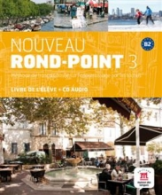 کتاب فرانسه  Nouveau Rond-Point 3 + Cahier + CD audio