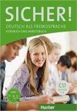خرید کتاب آلمانی زیشر C1 درس 1 تا 6 SICHER ! C1.1 LEKTION 1-6 KURSBUCH UND ARBEITSBUCH + CD