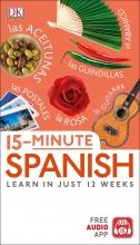 کتاب  اسپانیایی 15 Minute Spanish