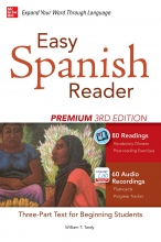 کتاب اسپانیایی Easy Spanish Reader Premium