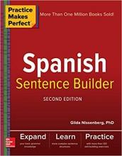 کتاب اسپانیایی Practice Makes Perfect Spanish Sentence Builder