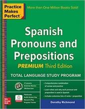 کتاب اسپانیایی Practice Makes Perfect Spanish Pronouns and Prepositions