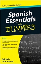 کتاب اسپانیایی Spanish Essentials For Dummies