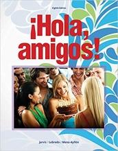 کتاب اسپانیایی Hola amigos